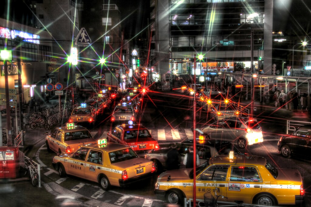Hodogaya Station taxis