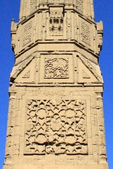 base [original] (ahmed yahia enab) Tags: building art history monument stone architecture worship minaret islam details faith religion egypt engineering cairo ornament sultan  muqarnas    aldin       sayf    inal       alashraf     alzahry