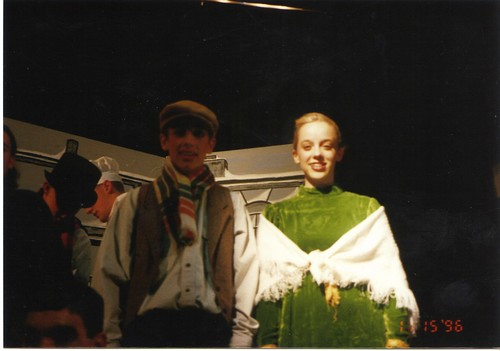 Roger and Ruth in A Christmas Carol Nov 15, 1996