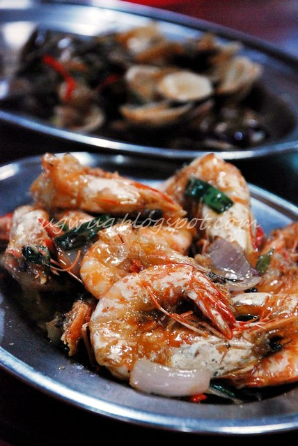 Stirred Fried Prawns