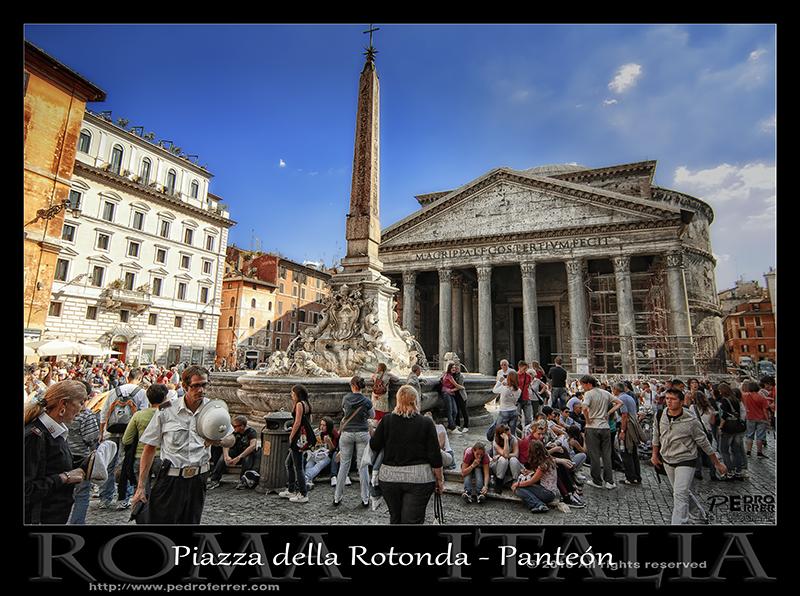 Roma - Piazza della Rotonda - Panteón