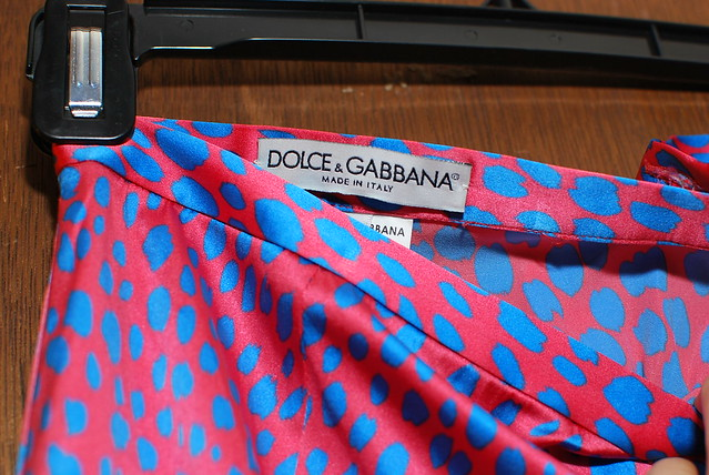 dolce & gabbana skirt from clothing swap