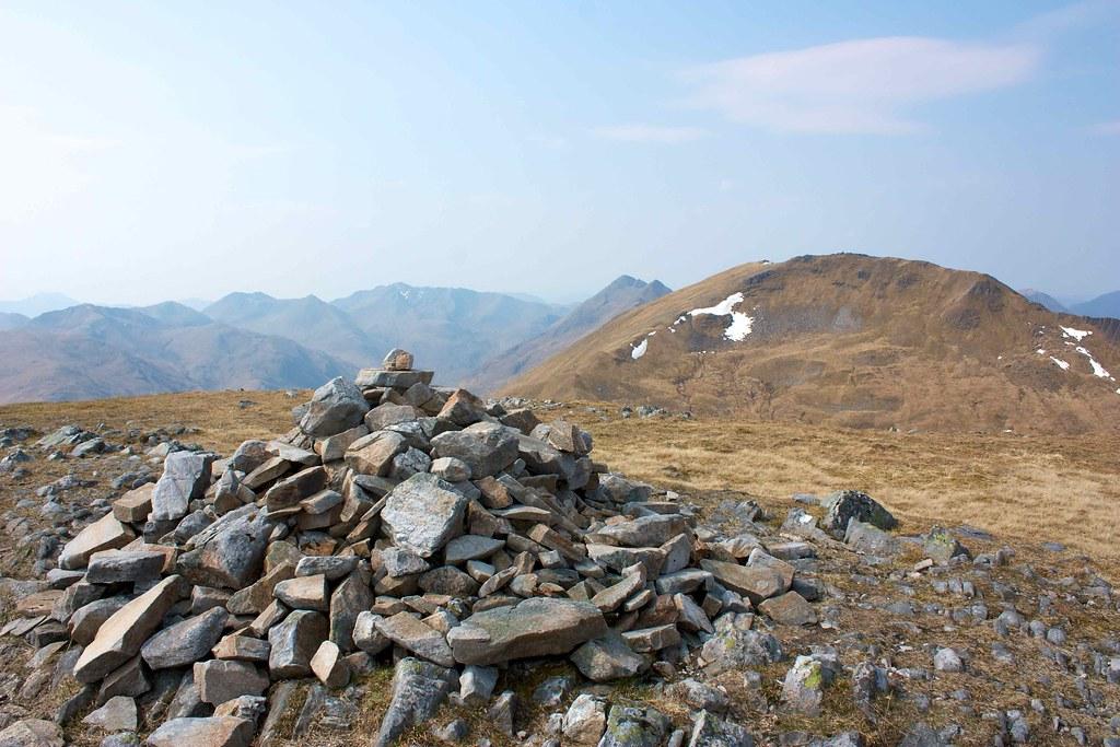 Summit of Aonach Meadhoin