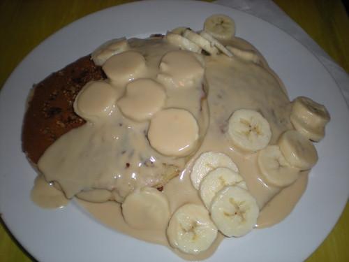 Bongo Room Heath Bar & Banana Pancakes