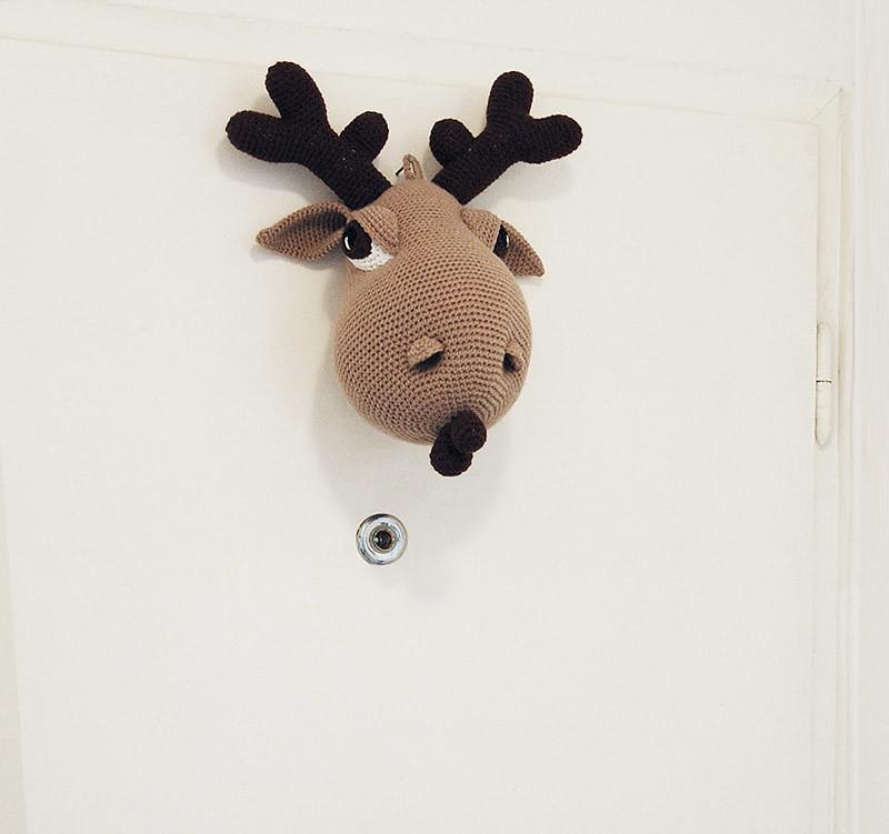 Hogar the Moose - my new pattern
