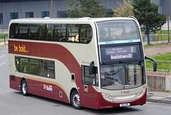 205 (Callum's Buses & Stuff) Tags: bus buses edinburgh iron 400 dennis lothian enviro madder 400h lothianbuses edinburghbus madderandwhite madderwhite
