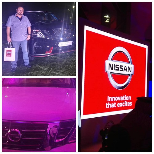 From the @nissaninbahrain #Patrol launch with the best Motorsports hub in the Arabian Gulf @gaz_magazine