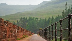 Loch Arklet Dam 2 (brightondj - getting the most from a cheap compact) Tags: sixthwalk inversnaid scotlandrain weather rain summer2016 holiday summerholiday uk britain ukholiday