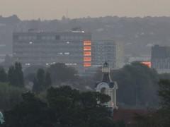 Dawn view Westward from Wood Green (Paul Burnham) Tags: dawn westward twilight gloaming roaminginthegloaming londonskyline