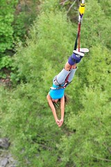 """Second #bungeejumping at the #Kawaraubridge in Queenstown, New Zealand. #itravelanddance March 2010 • <a style=""""font-size:0.8em;"""" href=""""http://www.flickr.com/photos/147943715@N05/30159705335/"""" target=""""_blank"""">View on Flickr</a>"""