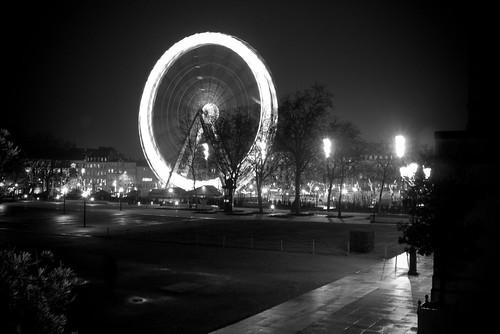 Place de la république, grande roue