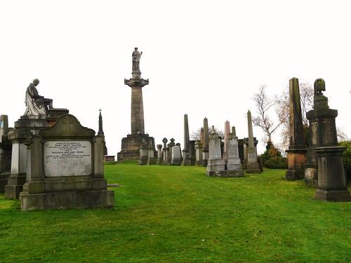 Burial Ground at Glasgow Necropolis