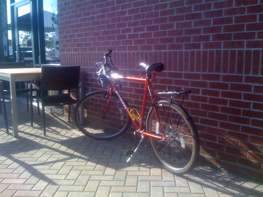 Red Red Bike from Crested Butte
