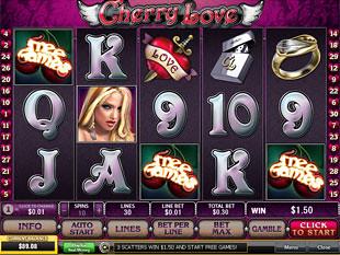 free Cherry Love slot gamble feature