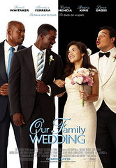 Mini Movie Poster Our Family Wedding, Forest Whitaker