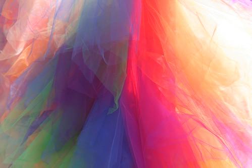 Rainbow Chiffon