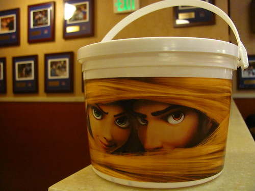 Tangled Popcorn Bucket from the El Capitan