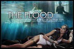 Cheryl Cole- The Flood Blend (Edo Peltier [0k4mi]) Tags: blue sea music hot sexy green water video underwater cole flood little kingdom cheryl messy raindrops edo bule blend peltier vidoe 0k4mi blendkingdom