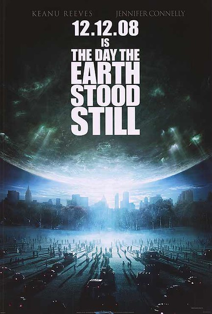 Day The Earth Stood Still Movie Poster by slade1955