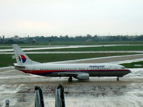 Malaysia airlines B737