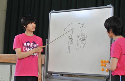 體操男孩瀨戶康史子