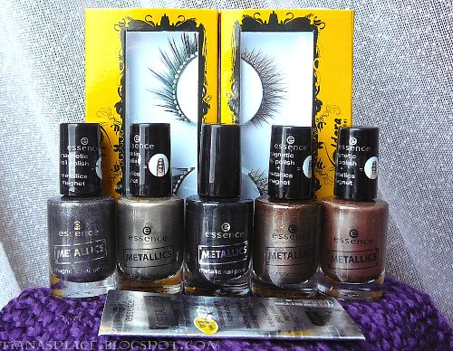 Essence - Metallics collection winner prize