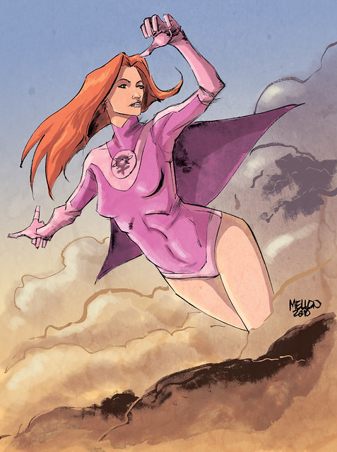 Atom Eve color by Kevin Mellon