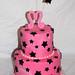 Mickie's Black Stars Cake