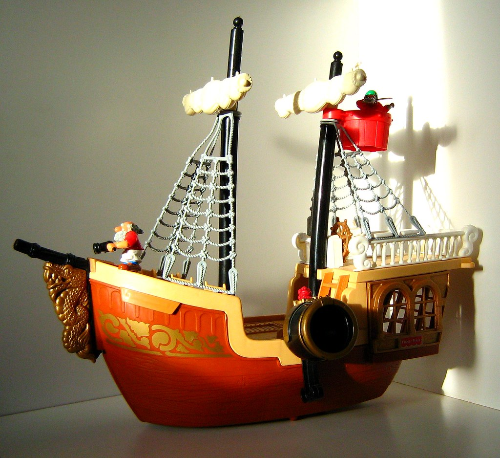 Fisher-Price Toys - Great Adventures: Pirate Ship