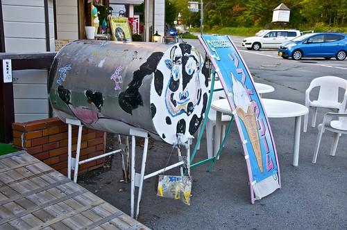 Vaca esférica tras un cambio de coordenadas