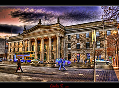 General Post Office (GPO) (Carlos F1) Tags: county street ireland dublin irish building art architecture photoshop calle office high arquitectura nikon dynamic post general edificio oficina an eire range alto hdr gpo oconnell irlanda correos countydublin lucisart lucis d300 irlandes dinámico fingal rango photomatix tonemapped ardoifig phoist