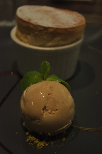 white choc souffle baileys icecream