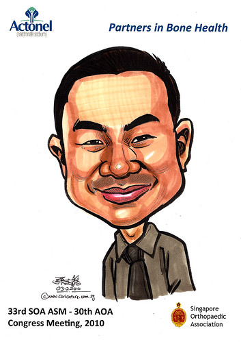 Caricatures for Sanofi-Aventis - 6