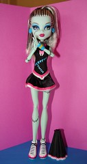 fear leader (Laila X) Tags: monster high uniform doll dolls frankie scream stein mattel fearleader dawnofthedance