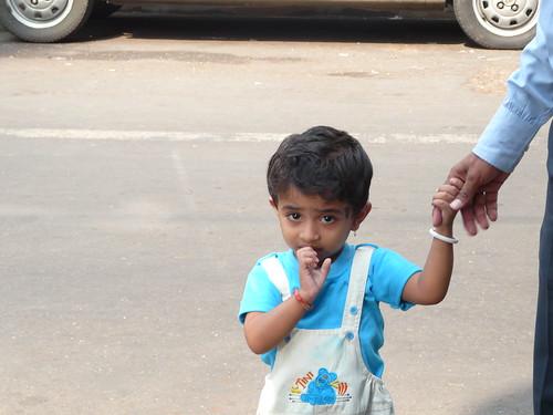 Shy Child, Bombay India