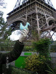 OHHHHHHH LA TOUR !!!! Foto de Maribel Rubio, para El.Gallinero (el.gallinero) Tags: en paris pato francia viajero parisdic2010