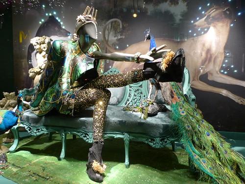 Vitrines de Noël Mode et Déco du Printemps Printemps - Paris, novembre 2010
