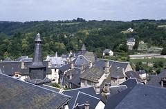 Treignac (Corrze) (Cletus Awreetus) Tags: france architecture village pierre toit ardoise corrze clocher treignac clochertors plateaudemillevaches