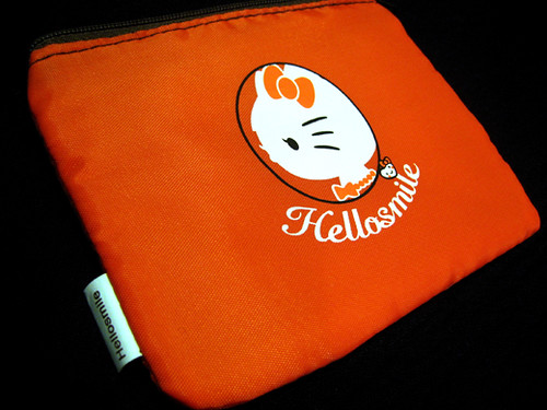 Free Hello Kitty pouch from ELLE Girl magazine