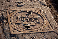 Total (Clive1945) Tags: iron inspection morocco cover manhole manholecover mogador gullydeckel d5000