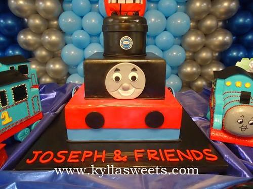 Thomas And Friends Cake Bolo Thomas E Seus Amigos A Photo