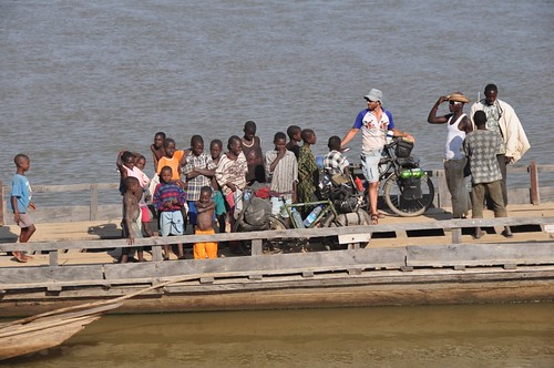 Crossing the Benue River
