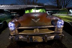 FirePower (Lost America) Tags: lightpainting night newyorker dew junkyard hemi chrysler 1952 nocturnes thebigm