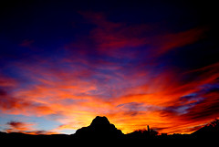 Tonights Arizona Sky (desertwatercolors) Tags: tucson sunsets az dwc desertwatercolors