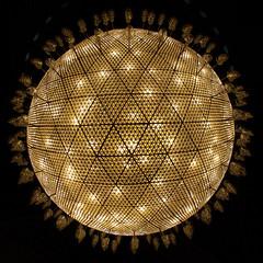 Light (Carlo Columba) Tags: light turkey islam religion meeting mosque teacher chandelier kickoff ankara partnership turchia refreshement comeniusregio
