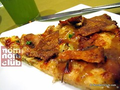 Lechon Pizza Slice