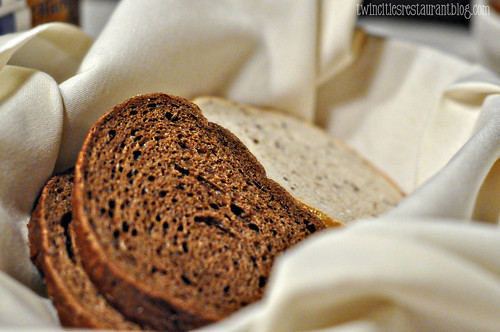 Rye Bread Basket at Gasthaus Bavarian Hunter ~ Stillwater, MN