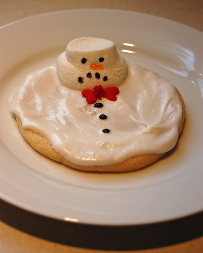 Melted Snowman Cookie 02