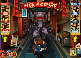 free Kung Fu Monkey bonus game level 3