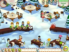 Amelie's Cafe: Holiday Spirit game screenshot